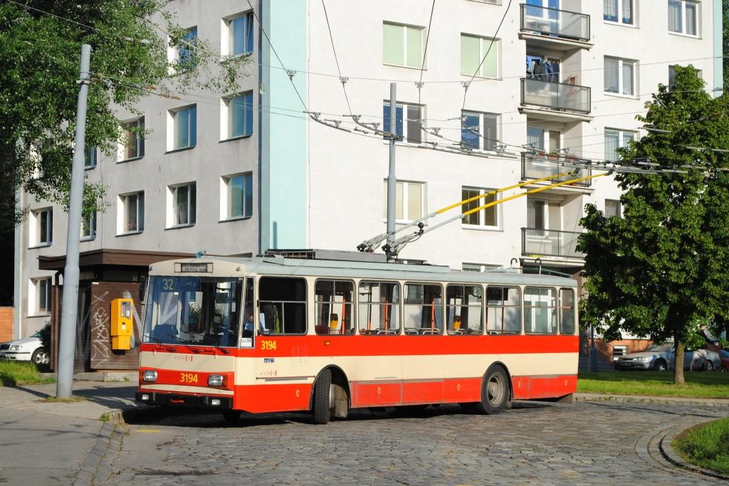 Fotogalerie » Škoda 14Tr07 3194 | Brno | Královo Pole | Srbská | Srbská