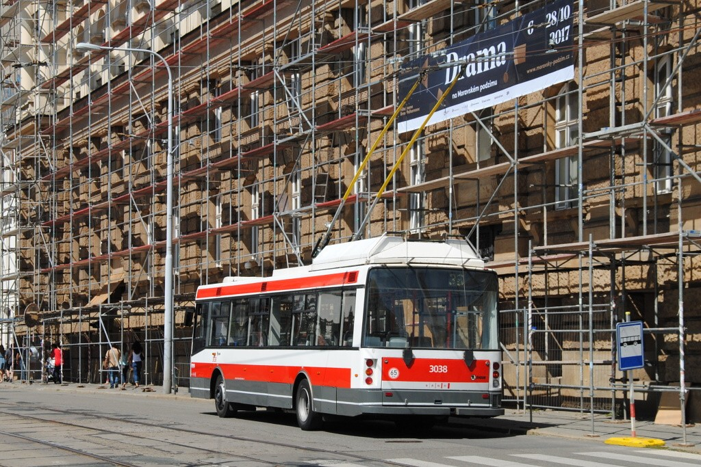 Fotogalerie » Škoda 21Tr 3038 | Brno | střed | Veveří