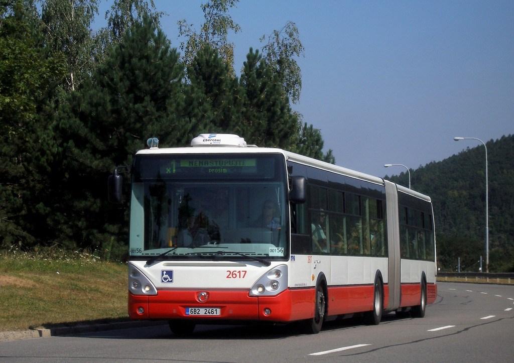 Fotogalerie » Irisbus Citelis 18M 2617   Brno   Bystrc   Vejrostova