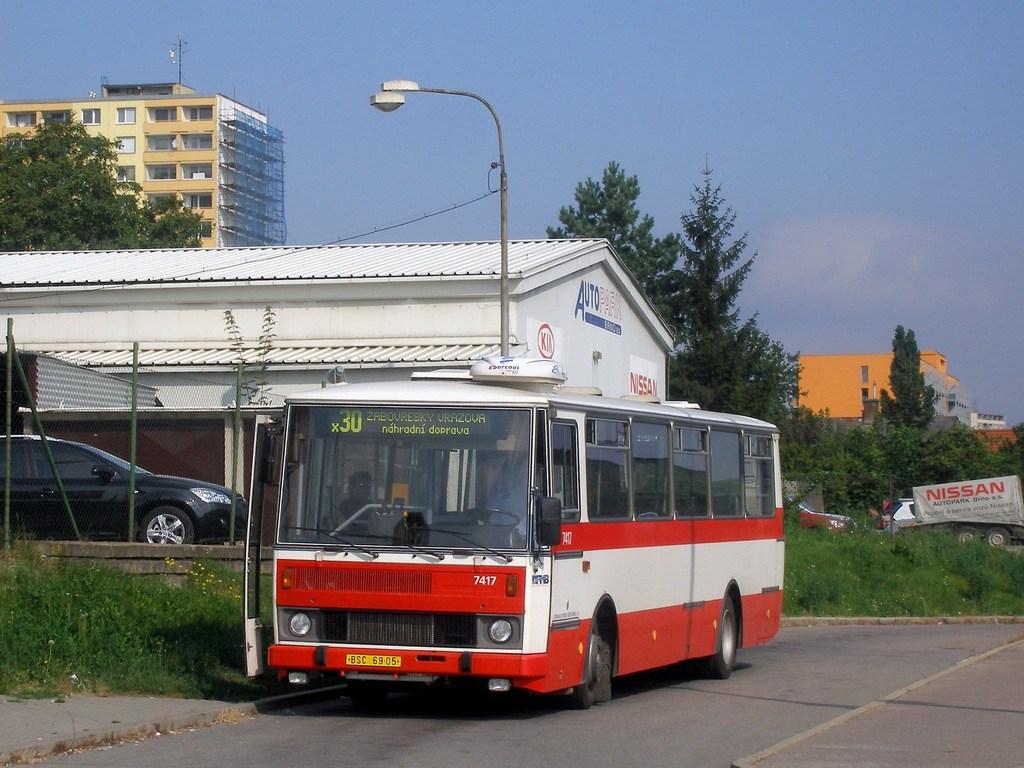 Fotogalerie » Karosa B731.1669 7417 | Brno | Královo Pole | Budovcova
