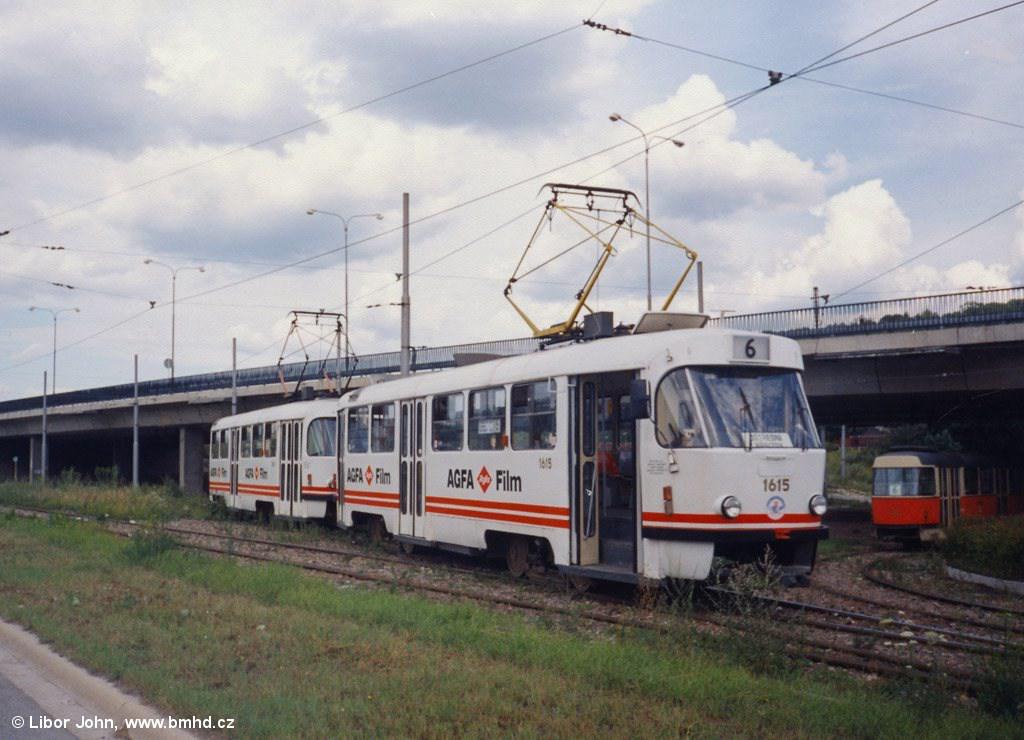 Fotogalerie » T3SUCS 1615 | T3SUCS 1619 | Brno | Královo Pole | Budovcova | Královo Pole, nádraží