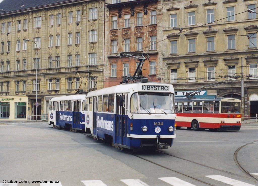 Fotogalerie » T3G 1634 | T3G 1616 | Brno | střed | Křenová