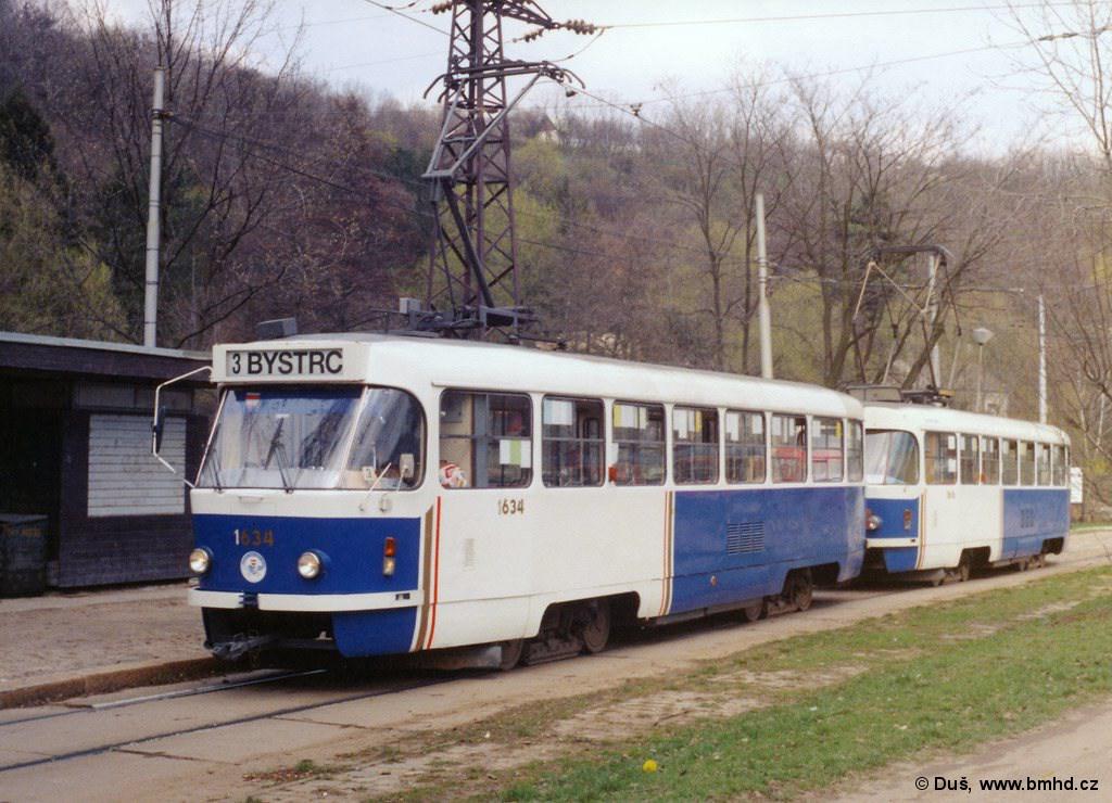 Fotogalerie » T3G 1634 | T3G 1616 | Brno | Maloměřice | Obřanská | Babická