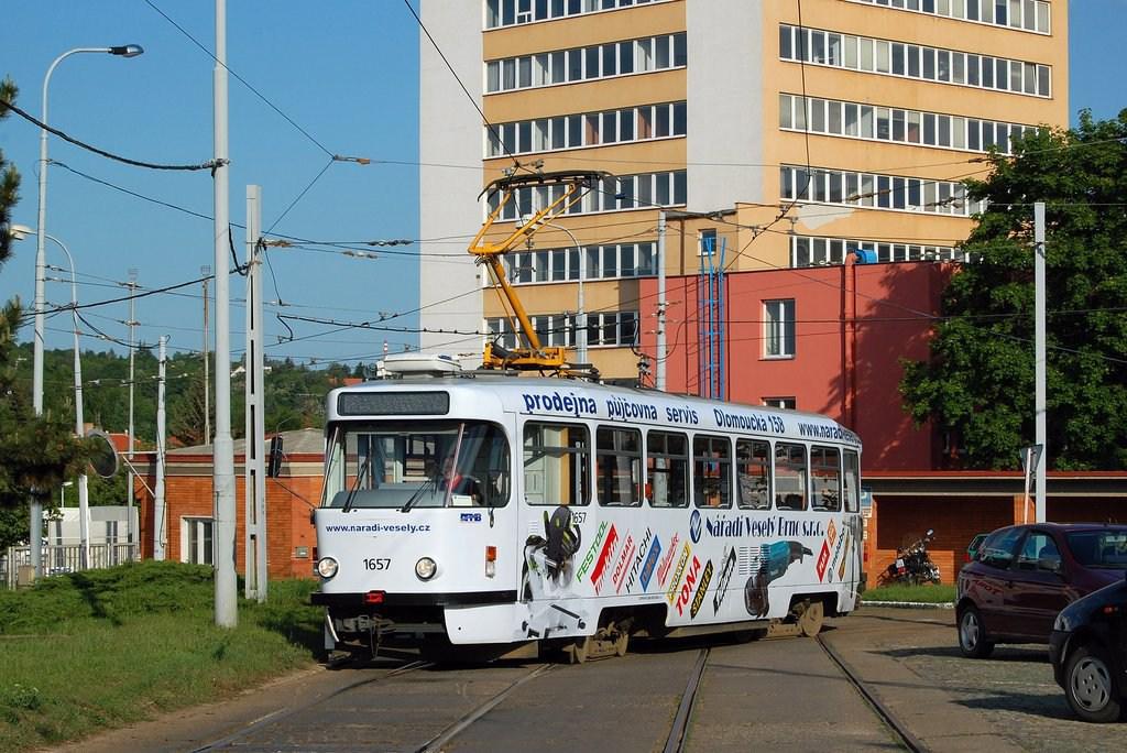 Fotogalerie » Pragoimex T3R.PV 1657 | Brno | vozovna Medlánky