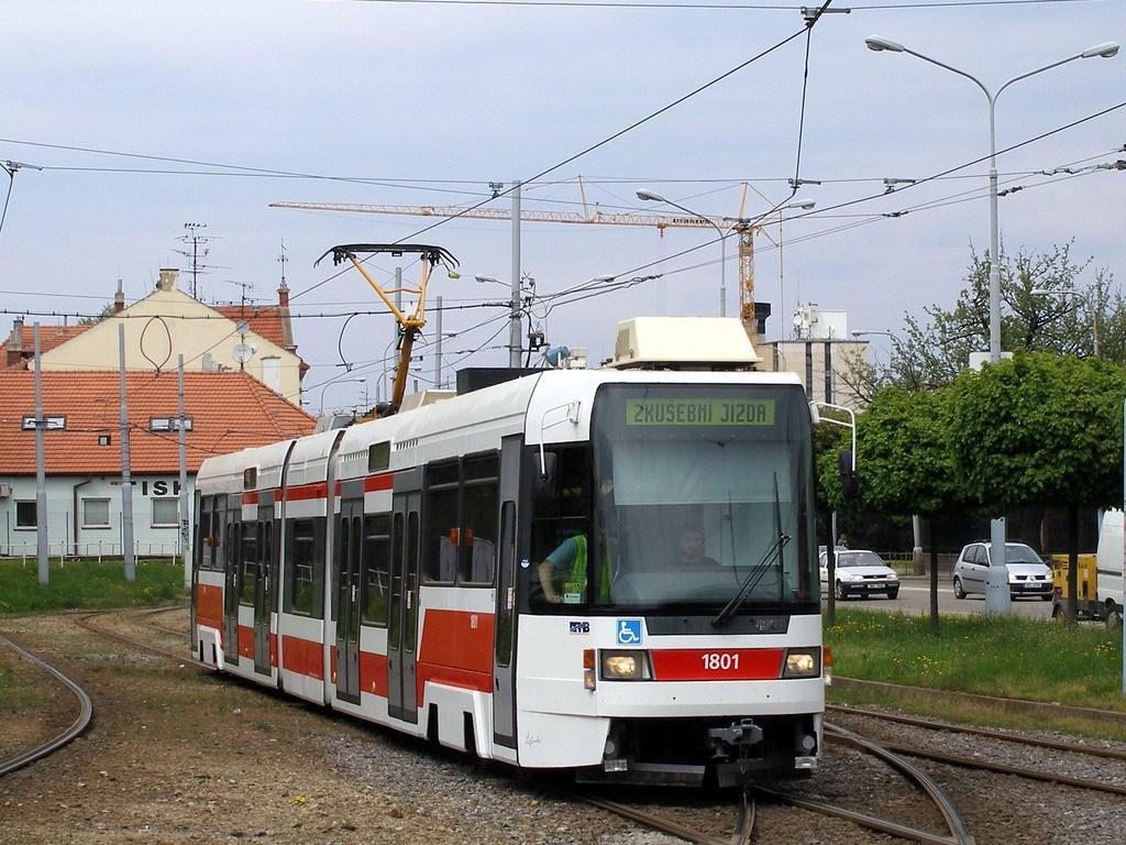 Fotogalerie » ČKD DS RT6N1 1801 | Brno | Štýřice | Vídeňská