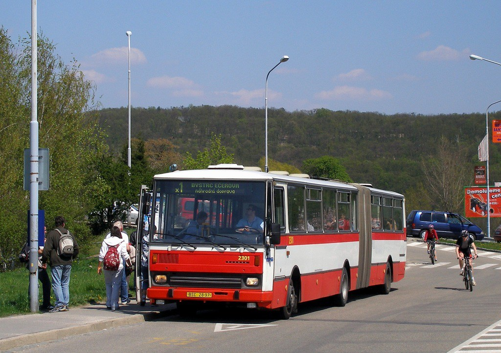 Fotogalerie » Karosa B741.1916 2301 | Brno | Bystrc | Obvodová | Přístaviště