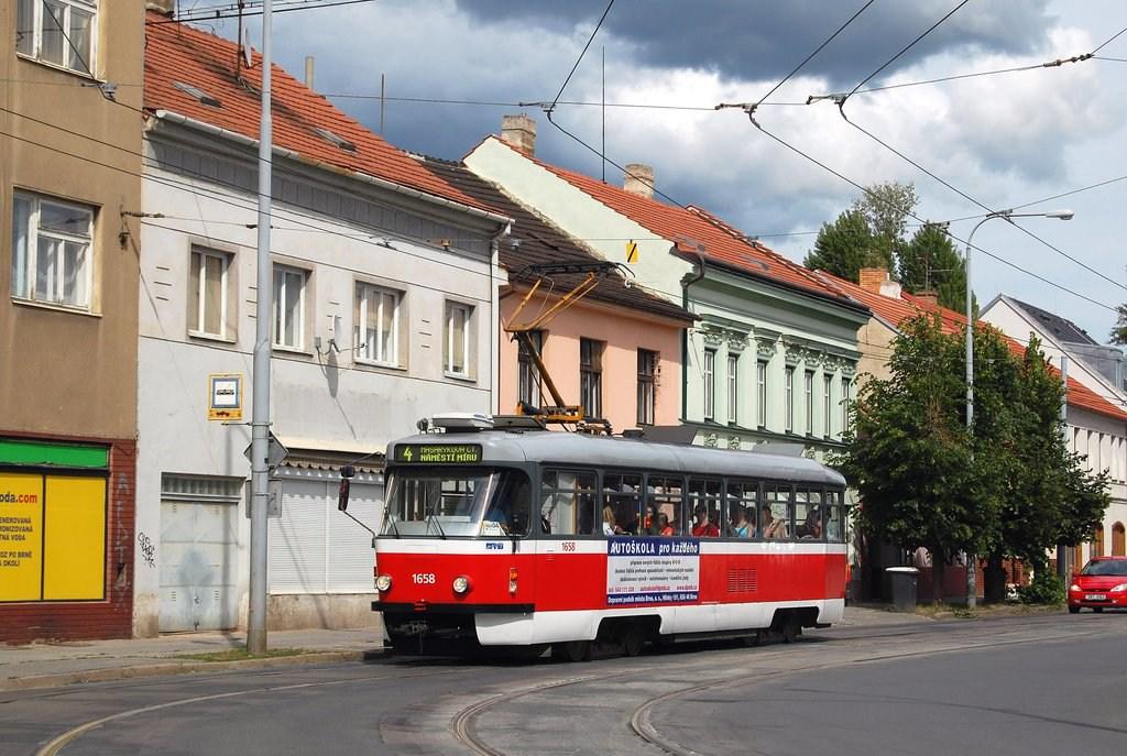 Fotogalerie » Pragoimex T3R.PV 1658 | Brno | Husovice | Dačického