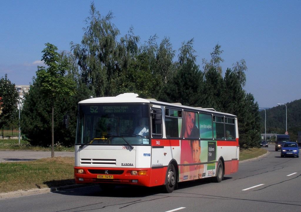 Fotogalerie » Karosa B931E.1707 7463 | Brno | Bystrc | Vejrostova