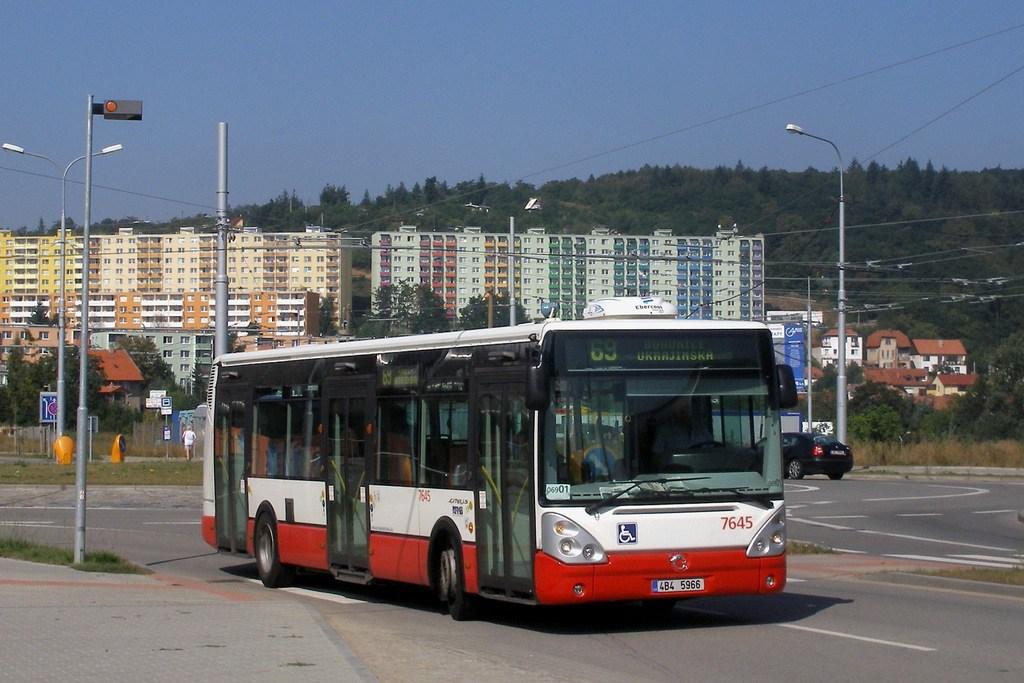 Fotogalerie » Irisbus Citelis 12M 7645 | Brno | Bohunice | Kamenice
