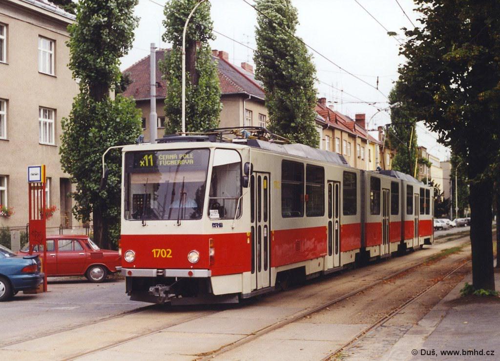 Fotogalerie » KT8D5 1702 | Brno | Černá Pole | Lesnická | Lesnická
