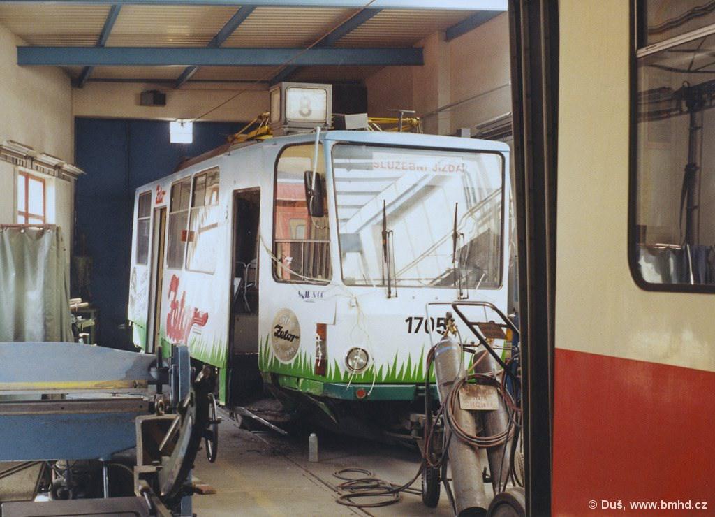 Fotogalerie » KT8D5 1705 | Brno | vozovna Medlánky