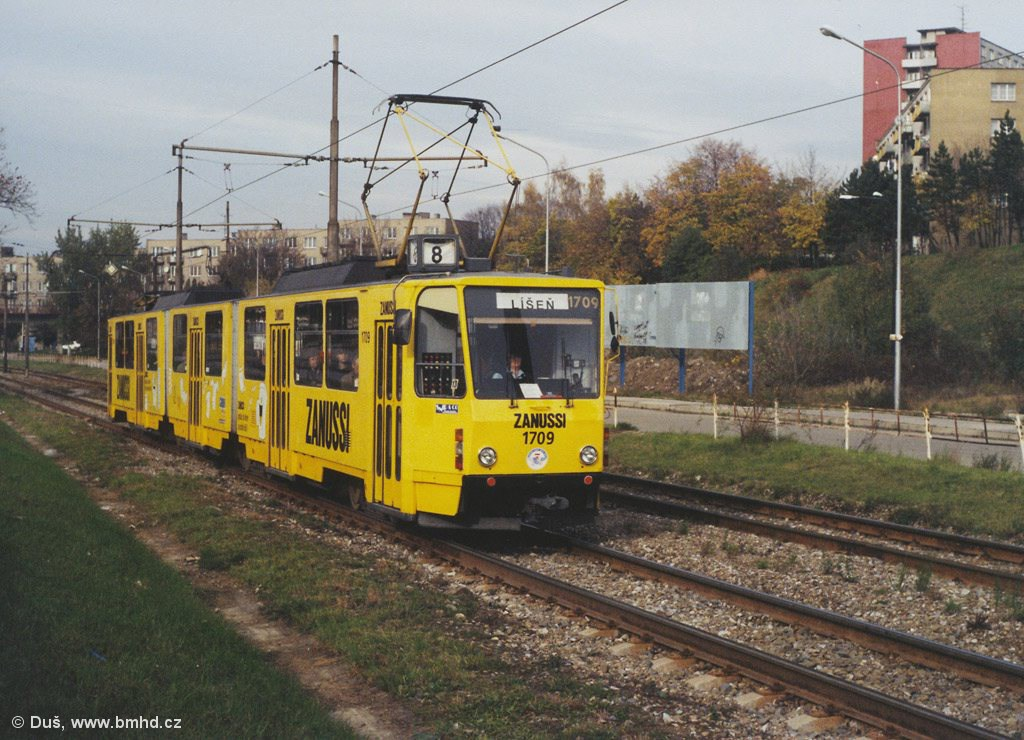 Fotogalerie » KT8D5 1709 | Brno | Židenice | Pod Sídlištěm