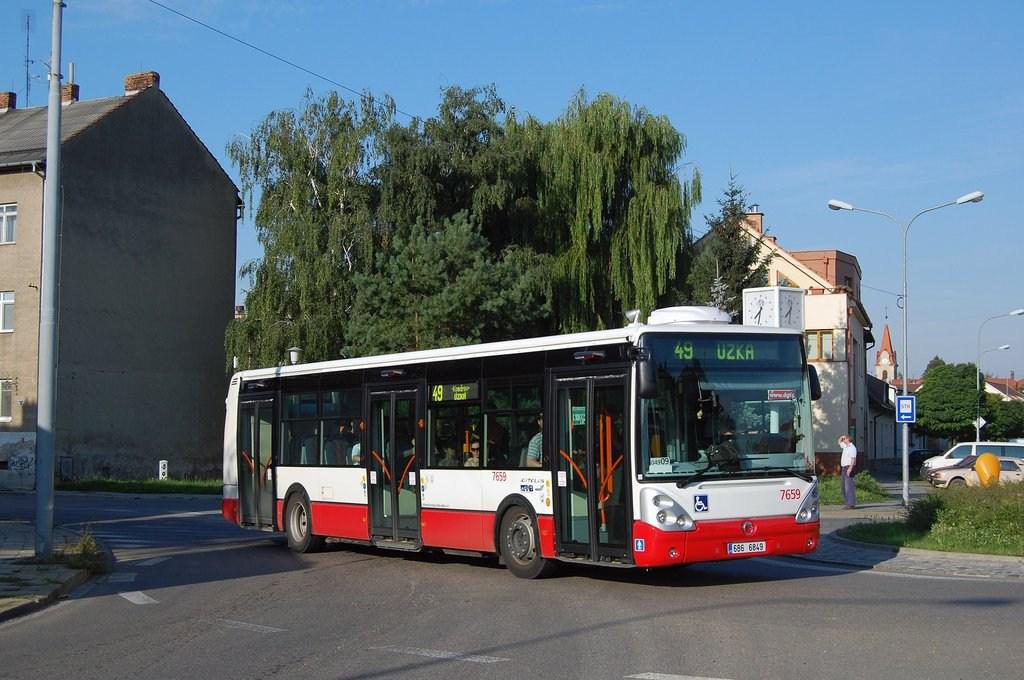 Fotogalerie » Irisbus Citelis 12M 7659 | Brno | Horní Heršpice | Kšírova