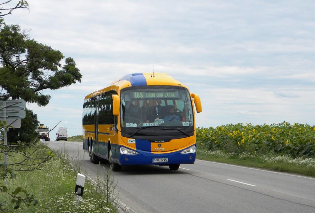 Fotogalerie » Scania Scania Irizar i4 5B8 2245 | Brno | Tuřany | Sokolnická | Sokolnická