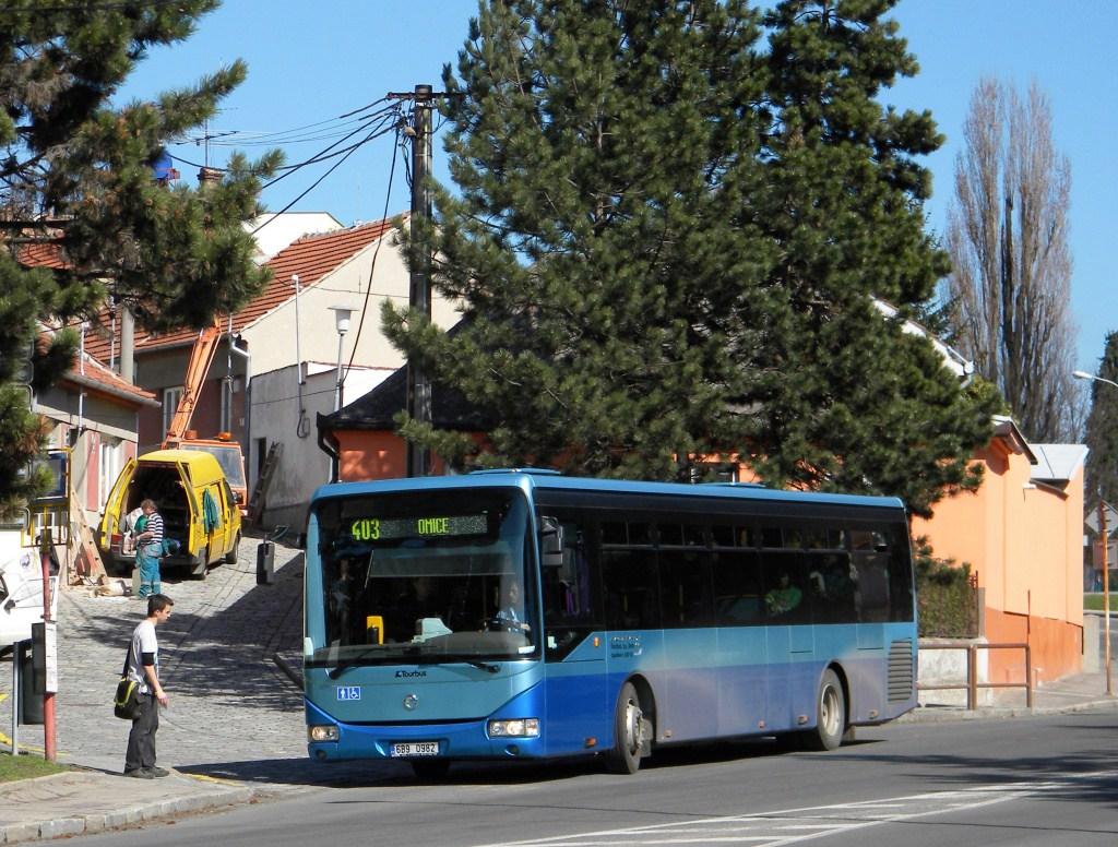 Fotogalerie » Irisbus Crossway LE 12M 6B9 0982 | Brno | Starý Lískovec | Elišky Přemyslovny | Čermákova