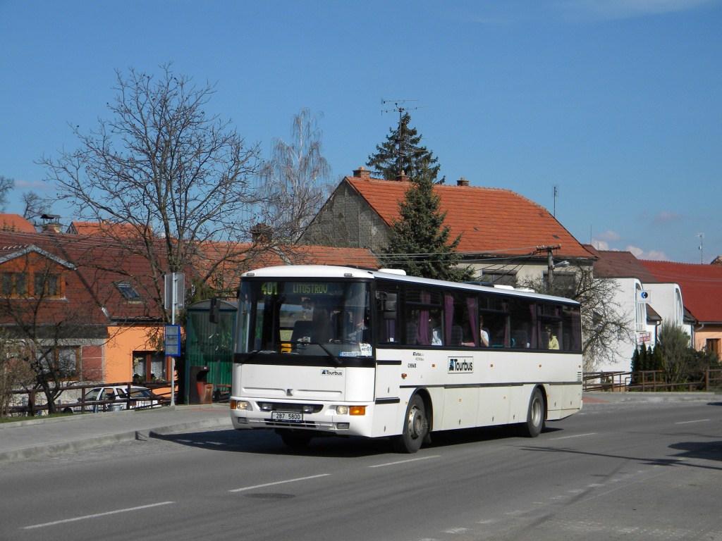 Fotogalerie » Karosa C954E.1360 2B7 5800 | Brno | Bosonohy | Pražská | Hoštická
