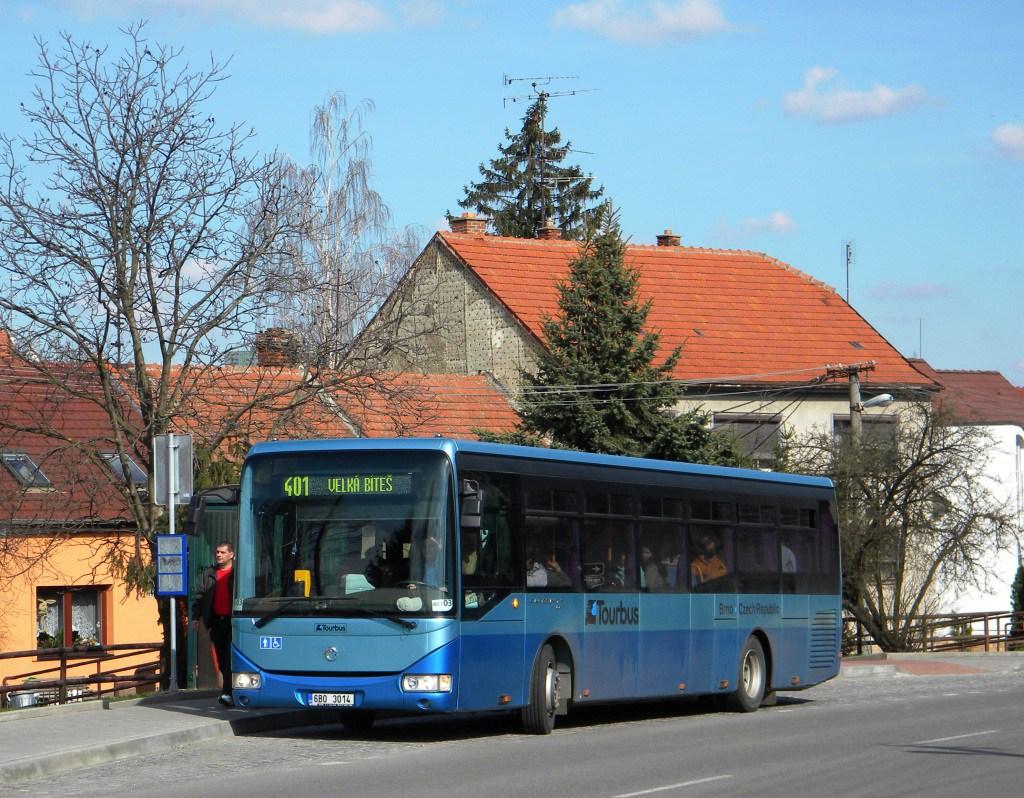 Fotogalerie » Irisbus Crossway LE 12M 6B0 3014 | Brno | Bosonohy | Pražská | Hoštická