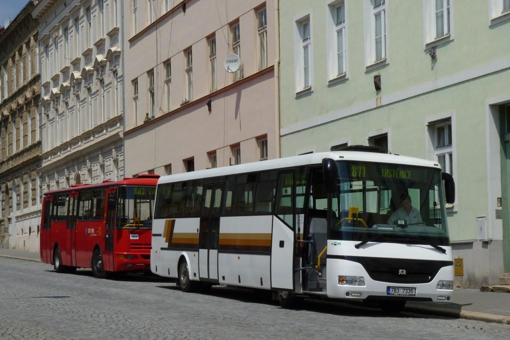 Fotogalerie » SOR SOR C 12 7B3 7335 | Znojmo | Rudoleckého | Autobusové nádraží