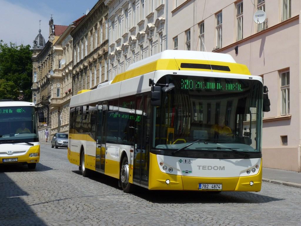 Fotogalerie » TEDOM L12 G 7B2 4874 | Znojmo | Rudoleckého | Autobusové nádraží