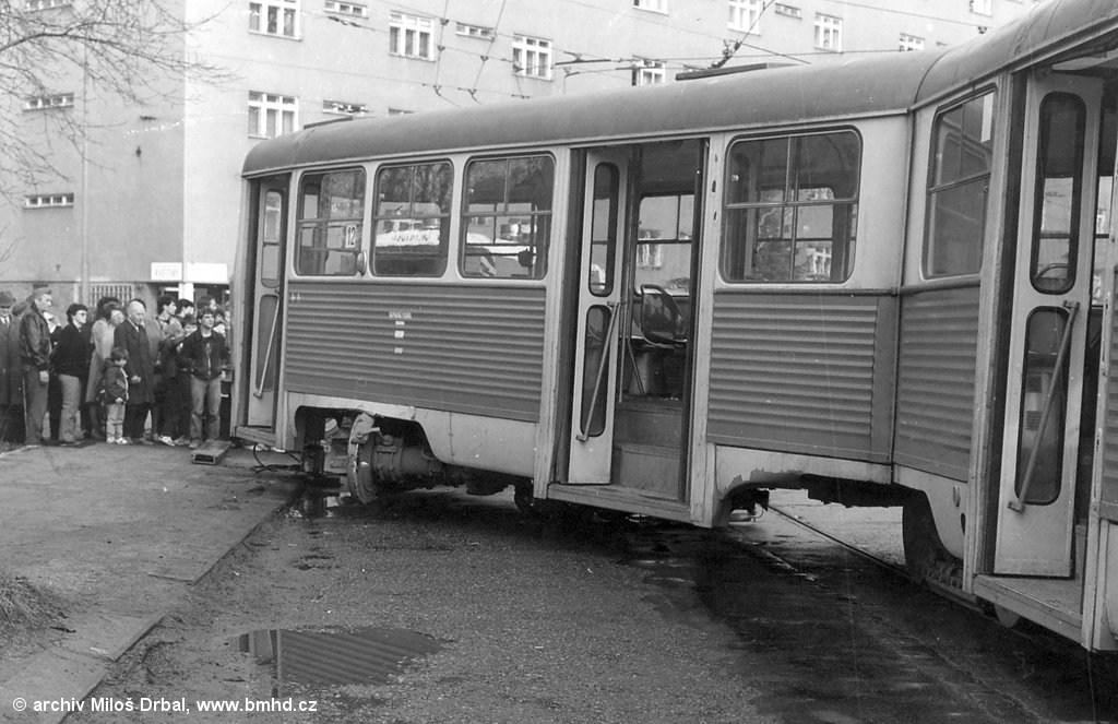 Fotogalerie » ČKD Tatra K2 1074 | Brno | Žabovřesky | Kounicova