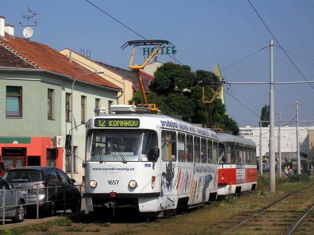 Fotogalerie » Pragoimex T3R.PV 1657 | Pragoimex T3R.PV 1658 | Brno | Komárov | Hněvkovského