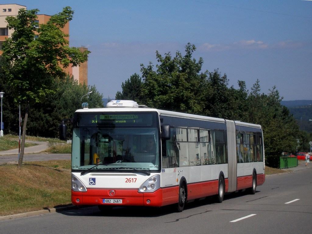 Fotogalerie » Irisbus Citelis 18M 2617 | Brno | Bystrc | Vejrostova
