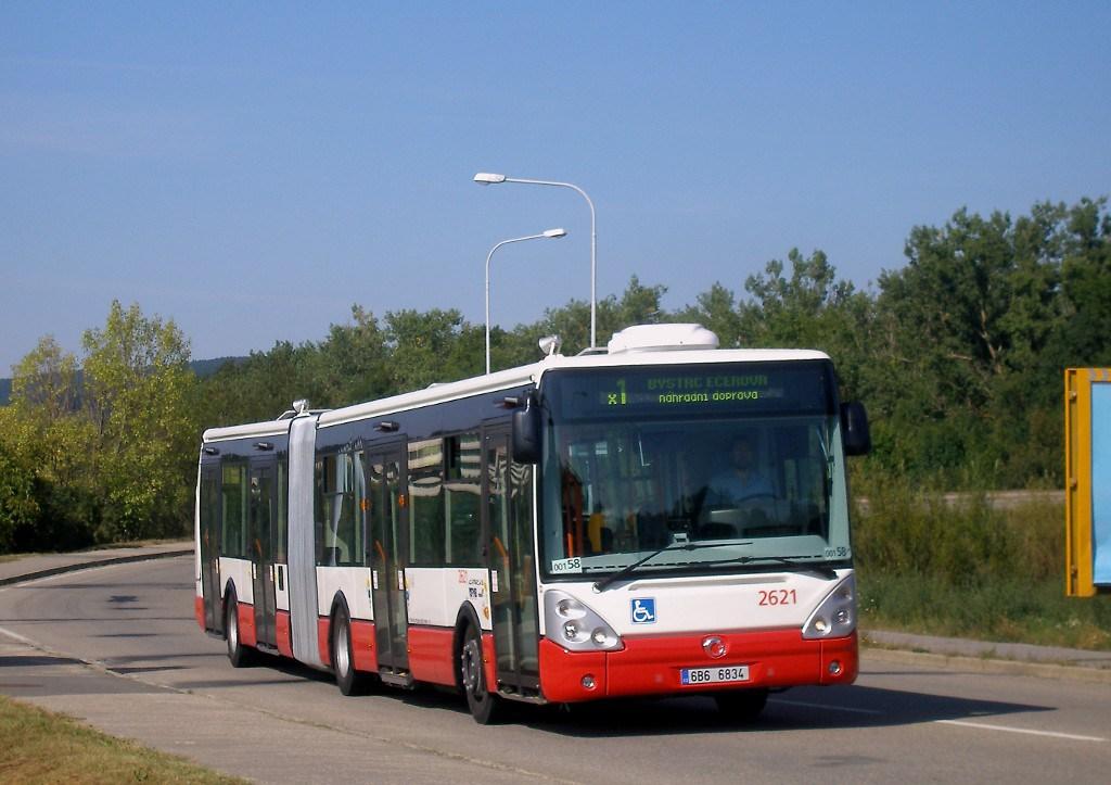 Fotogalerie » Irisbus Citelis 18M 2621 | Brno | Bystrc | Rakovecká