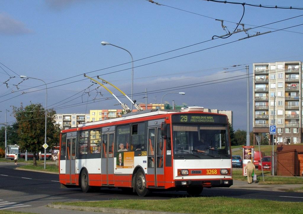 Fotogalerie » Škoda 14TrR 3268   Brno   Starý Lískovec   Osová