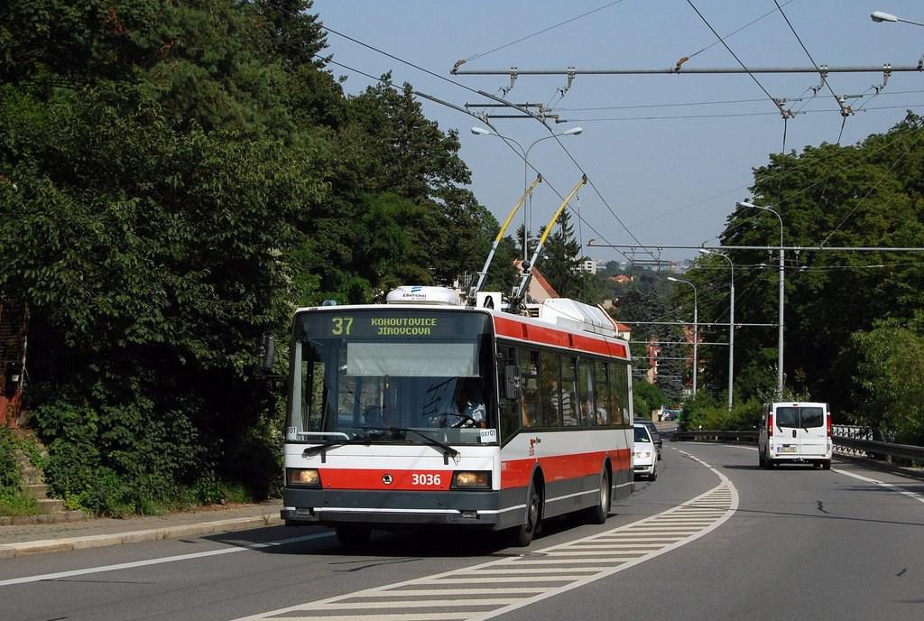 Fotogalerie » Škoda 21Tr 3036 | Brno | Pisárky | Antonína Procházky