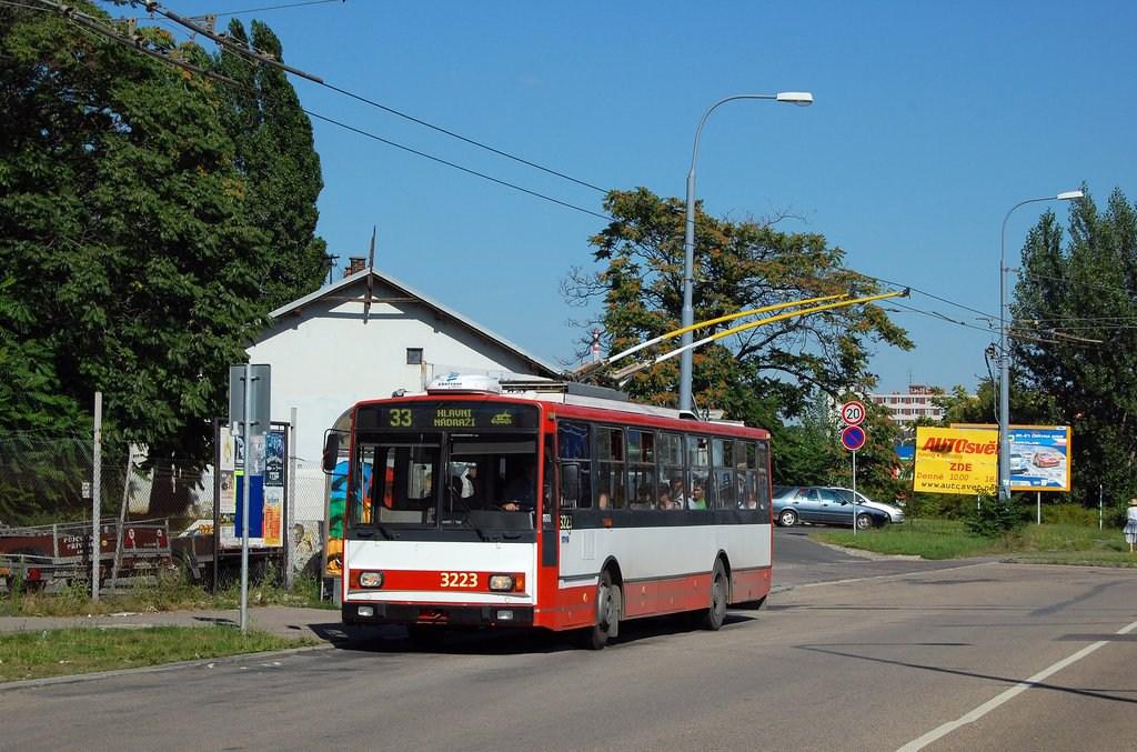 Fotogalerie » Škoda 14TrR 3223 | Brno | Černovice | Olomoucká | Životského