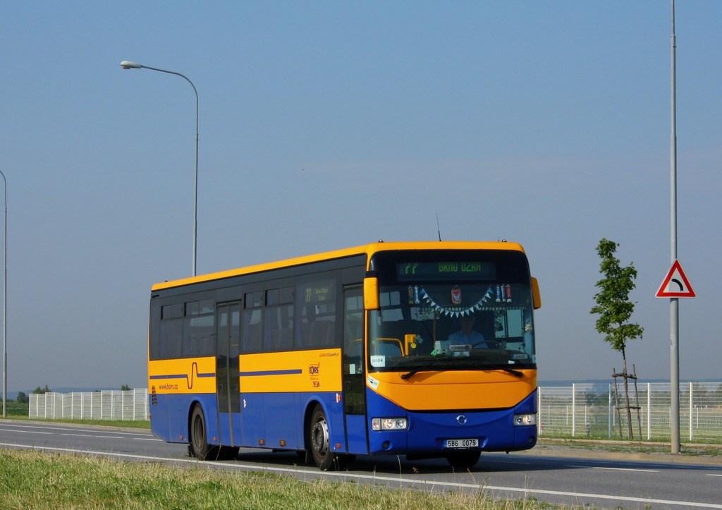 Fotogalerie » Irisbus Crossway 12M 5B6 0079 | Brno | Černovice | Těžební