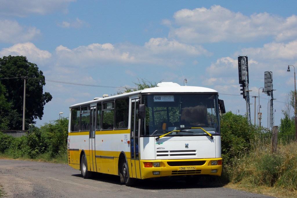 Fotogalerie » Karosa C934 ZNA 11-11 | Moravský Krumlov | U Nádraží | Moravský Krumlov, žel. st.