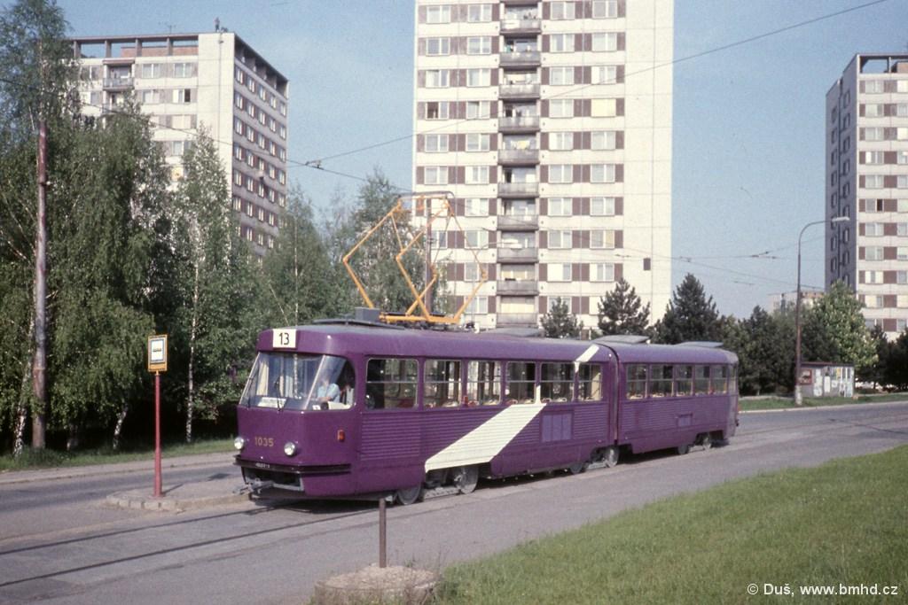 Fotogalerie » K2 1035 | Brno | Královo Pole | Purkyňova | Technické muzeum, smyčka