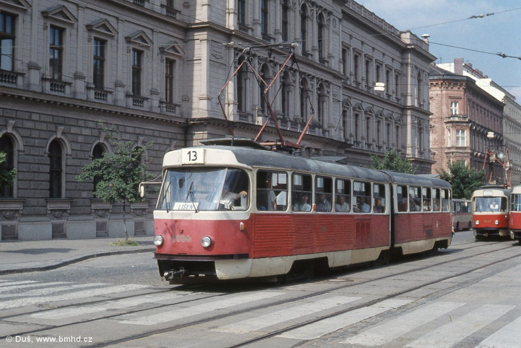 Fotogalerie » K2MM 1086 | Brno | střed | Joštova