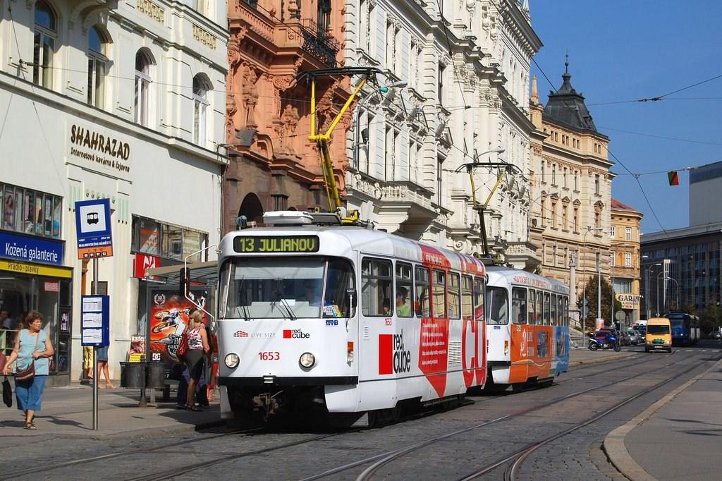 Fotogalerie » Pragoimex T3R.PV 1653   Pragoimex T3R.PV 1654   Brno   střed   Malinovského náměstí   Malinovského náměstí