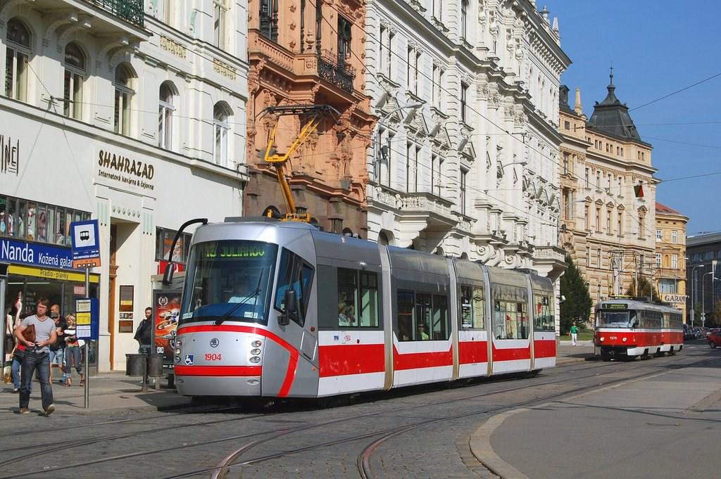 Fotogalerie » Škoda 13T1 1904 | Brno | střed | Malinovského náměstí | Malinovského náměstí