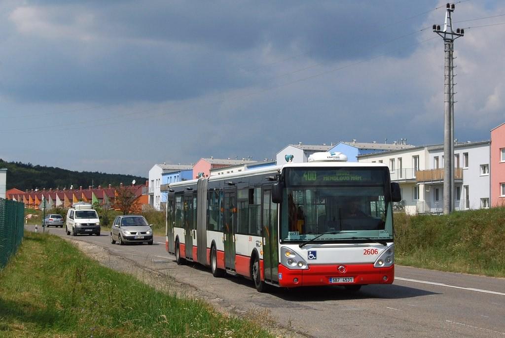 Fotogalerie » Irisbus Citelis 18M 2606 | Popůvky | Jihlavská | Popůvky, Vintrovna