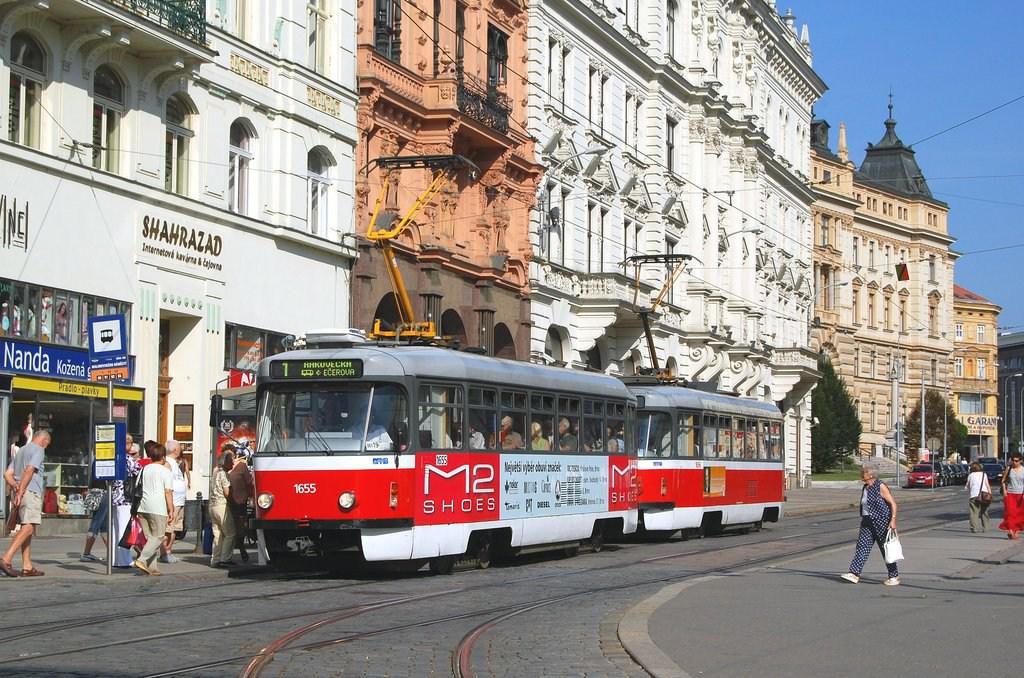 Fotogalerie » Pragoimex T3R.PV 1655 | Pragoimex T3R.PV 1656 | Brno | střed | Malinovského náměstí | Malinovského náměstí