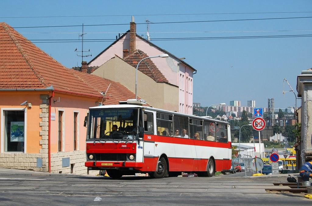 Fotogalerie » Karosa B731.1669 7400 | Brno | Královo pole | Veleslavínova