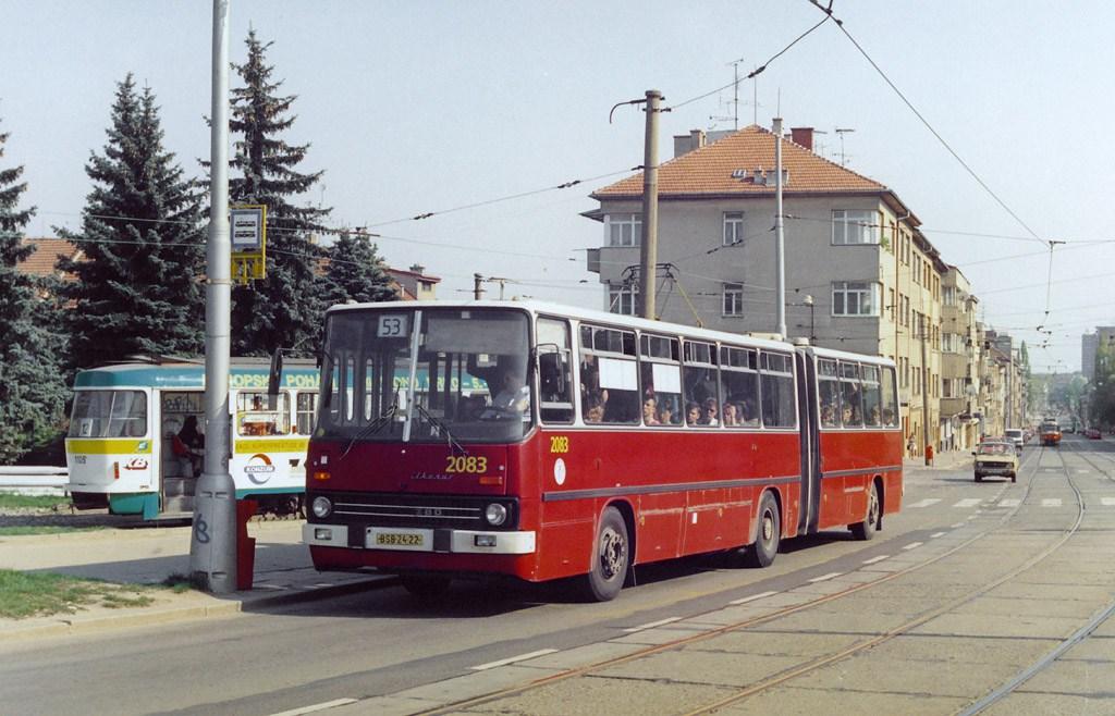 Fotogalerie » Ikarus 280.08 2083 | Brno | Královo Pole | Purkyňova | Červinkova