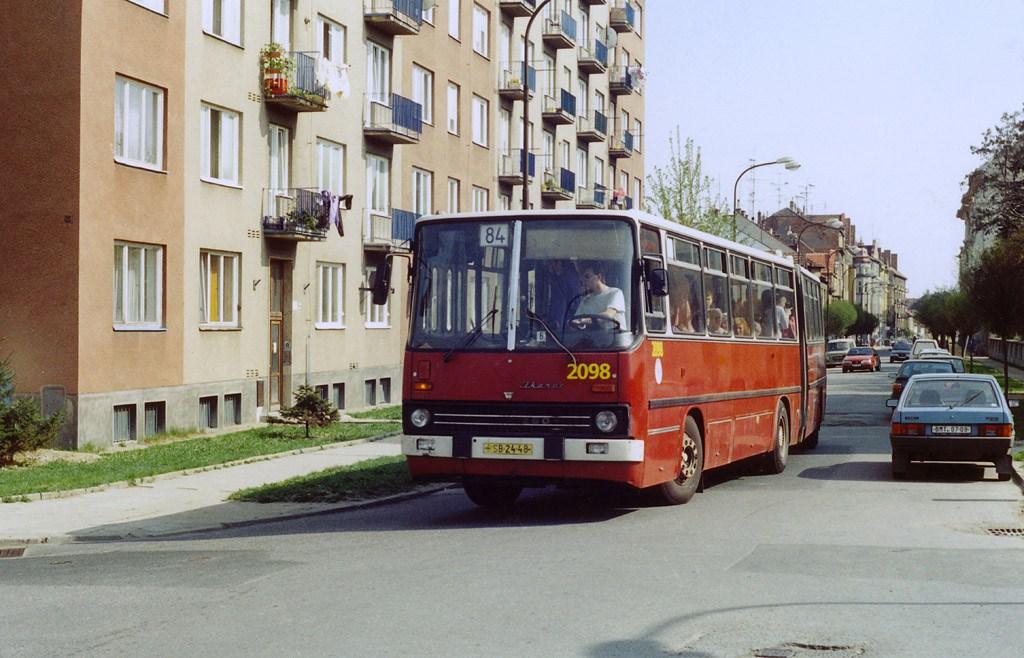 Fotogalerie » Ikarus 280.08 2098 | Brno | Královo Pole | Bulharská
