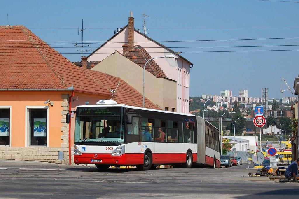 Fotogalerie » Irisbus Citelis 18M 2605   Brno   Královo pole   Veleslavínova