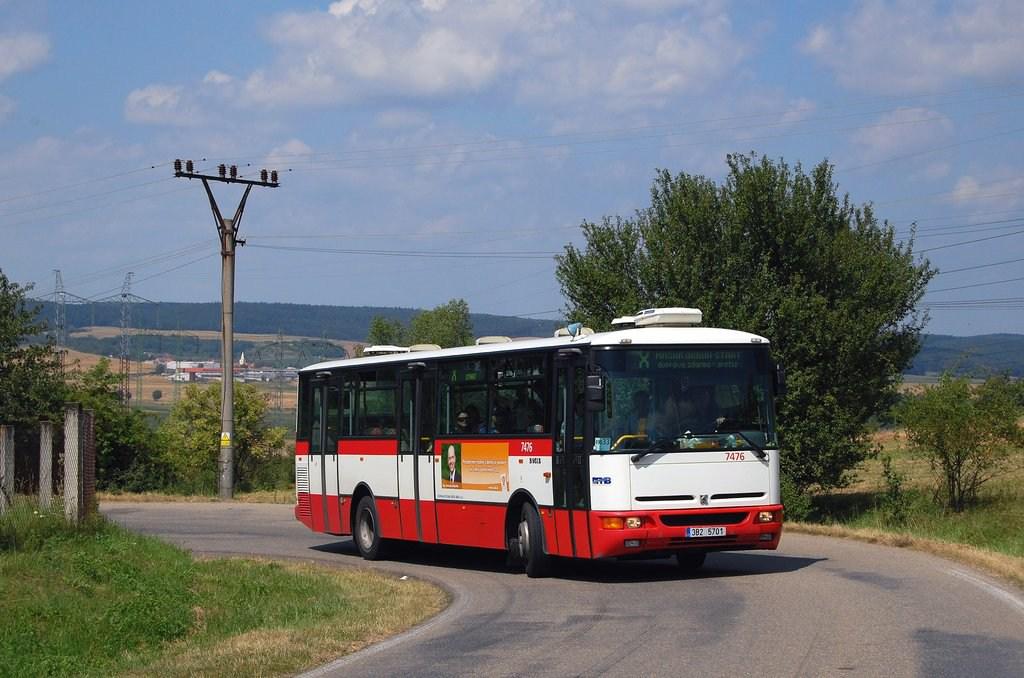 Fotogalerie » Karosa B951E.1713 7476 | Ostrovačice | Žebětínská