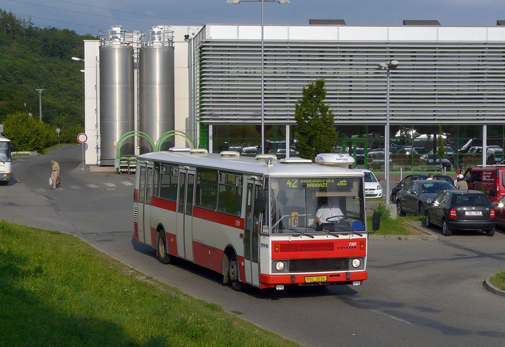 Fotogalerie » Karosa B732.1654.3 7391 | Brno | Ivanovice