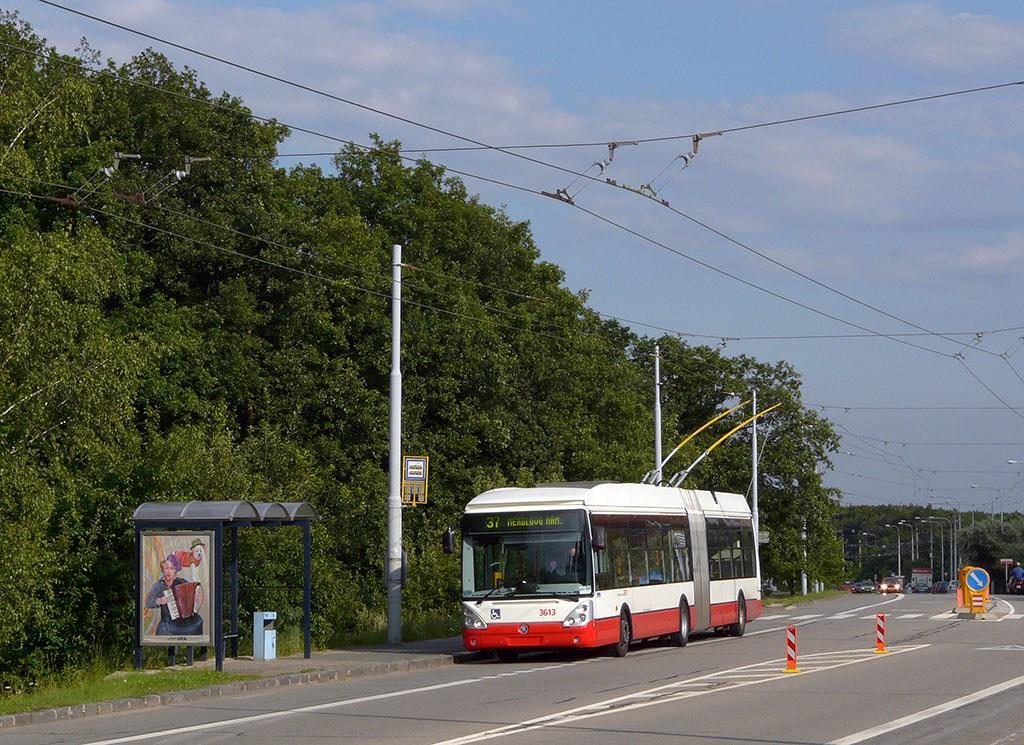 Fotogalerie » Škoda 25Tr Citelis 1B 3613 | Brno | Kohoutovice | Libušina třída | Pavlovská