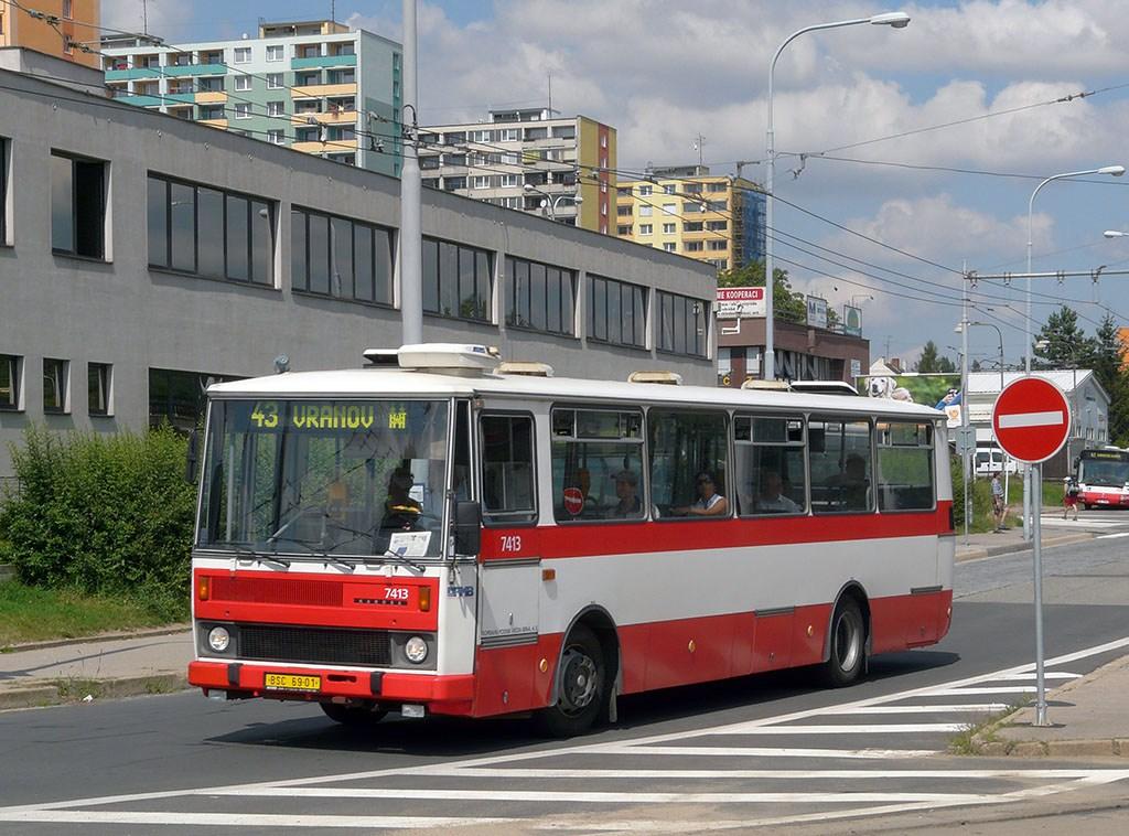 Fotogalerie » Karosa B731.1669 7413 | Brno | Královo Pole | Budovcova | Královo Pole, nádraží