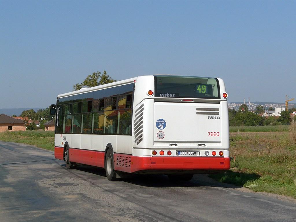 Fotogalerie » Irisbus Citelis 12M 7660 | Brno | Přízřenice | Modřická