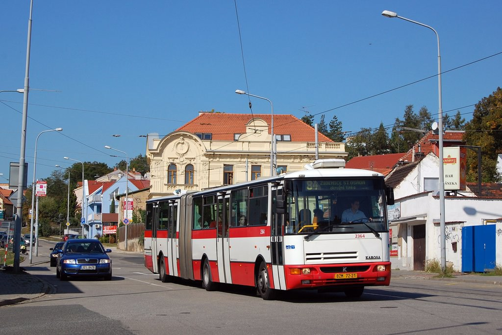 Fotogalerie » Karosa B961.1970 2364 | Brno | Žabovřesky | Rosického náměstí