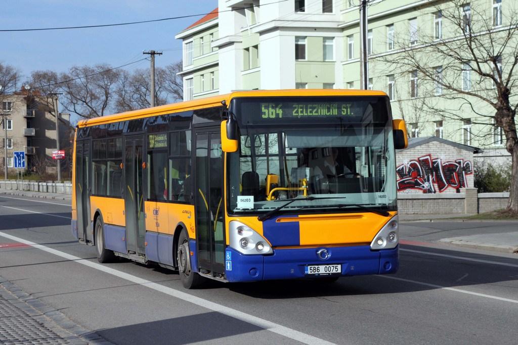 Fotogalerie » Irisbus Citelis 12M 5B6 0075 | Břeclav | Lidická
