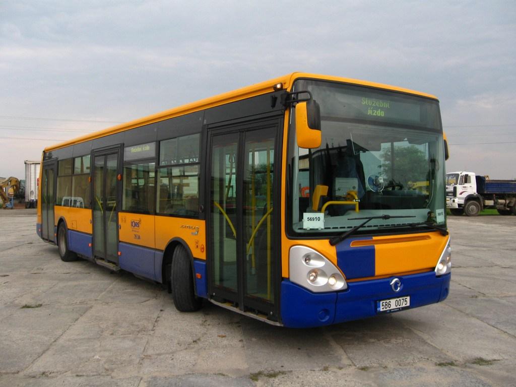 Fotogalerie » Irisbus Citelis 12M 5B6 0075 | Břeclav | Lidická | Celnice